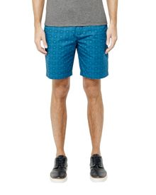 Ted Baker Geo print cotton shorts