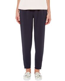 Ted Baker Ilga Tapered zip lux jogger trousers