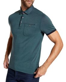 Ted Baker Wunstar Oxford Polo Shirt