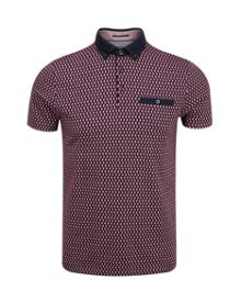 Ted Baker Rovina Circle Print Polo Shirt