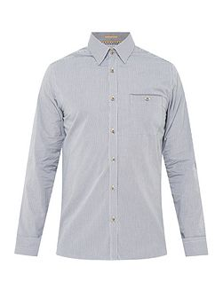 Twosoft micro checked shirt