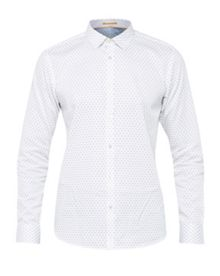 Ted Baker Marzila ornate geo print shirt
