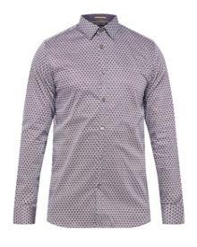 Ted Baker Lolfest diamond print shirt