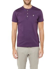 Ted Baker Shortay Henley Neck T-Shirt