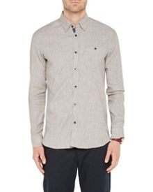 Ted Baker Newline Stretch Linen Shirt
