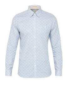 Ted Baker Trammo Print Cotton Shirt
