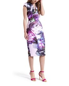 Emaline Sunlit Floral midi dress