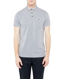 Ted Baker Veranda Woven Collar Polo Shirt