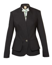 Ted Baker Cayci Peplum layered suit jacket