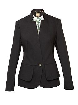 Cayci Peplum Layered Suit Jacket