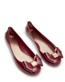 Ted Baker Faiyte Large Bow Jelly Pumps