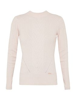Ibira Cable knit jumper