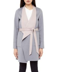 Demmii Reversible Loose Open Coat