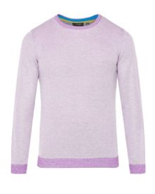 Ted Baker Boltin Textured Crew Neck Jumper