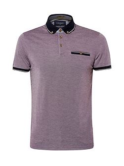Men's Ted Baker Fabalas Oxford Collar Polo Shirt