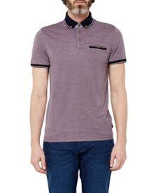 Ted Baker Fabalas Oxford Collar Polo Shirt
