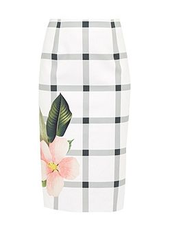 Mimie Secret Trellis pencil skirt