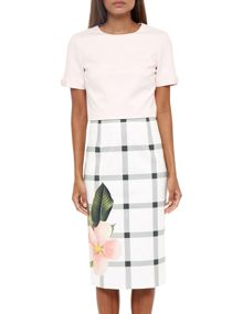 Ted Baker Mimie Secret Trellis pencil skirt