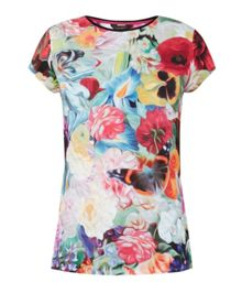 Ted Baker Briana Floral Swirl T-shirt