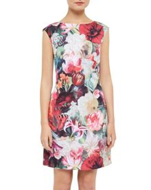 Ted Baker Quais Floral Swirl tunic dress