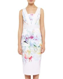 Ted Baker Hanging Gardens Border Dress