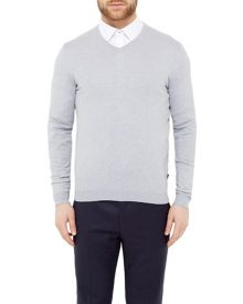 Ted Baker Ninvin Silk Blend V-neck Jumper
