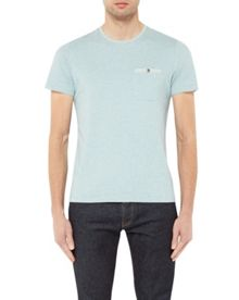 Ted Baker Polrole printed crew neck t-shirt