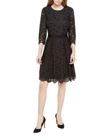 Ameeya Lace skater dress