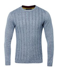 Ted Baker Cable Knit Wool Jumper