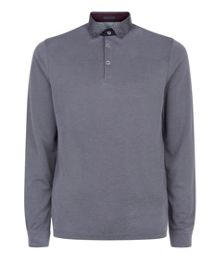 Ted Baker Vak Long Sleeved Polo Shirt