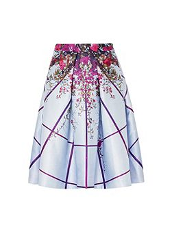 Pascall Flowered Lattice full skirt