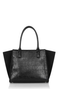 Croc  Effect Day Bag