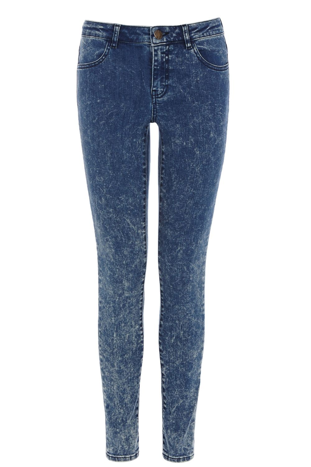 Acid splash jeans