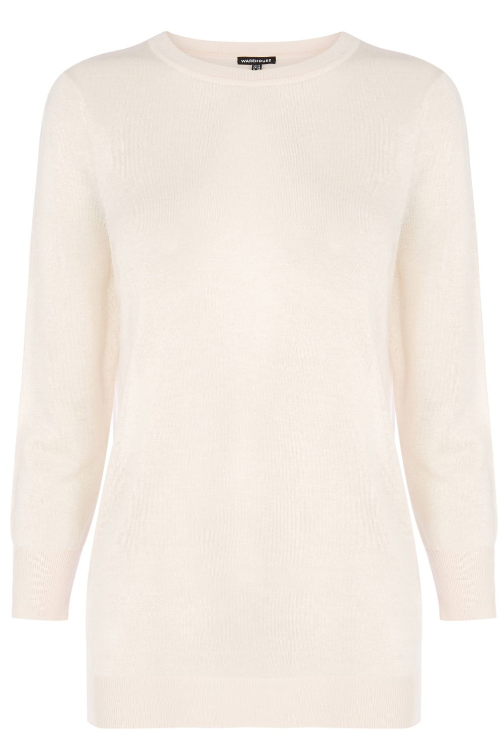 Sheer Yarn Crew Jumper