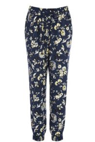 Mud Honey Floral Printed Trousers