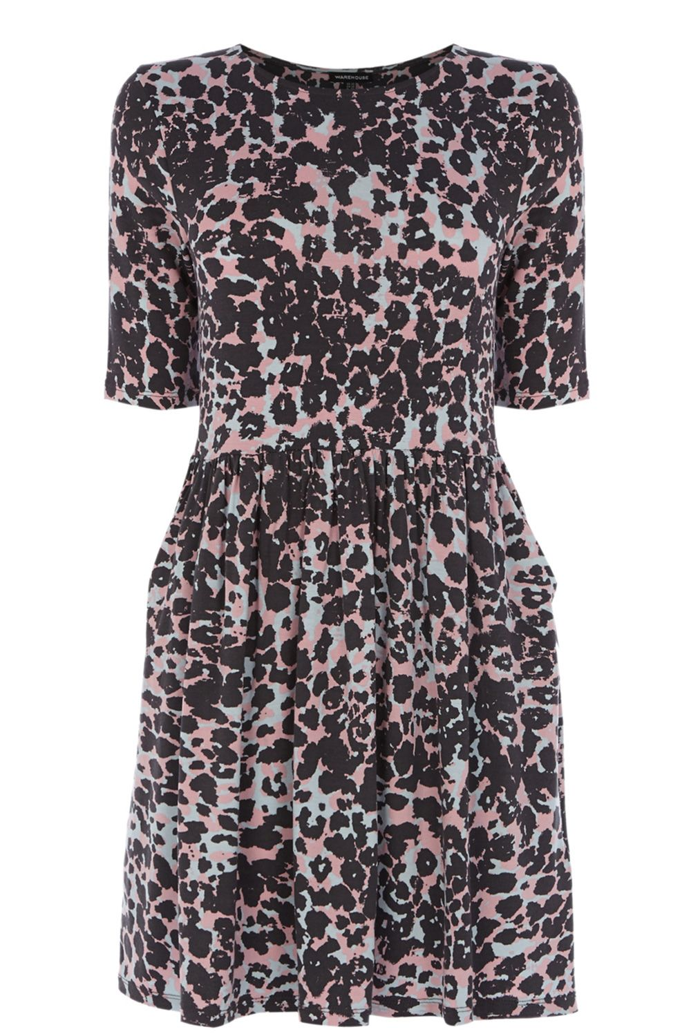Animal Print Day Dress