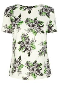 Hibiscus Print Top Co-Ord