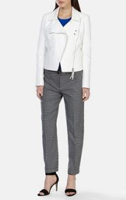 Tailored jacquard trouser