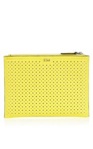 Perforated pochette