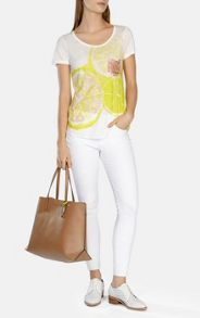 Karen Millen Stud pocket t-shirt