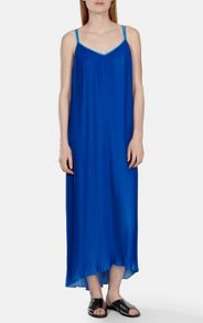 Karen Millen Printed pleated maxi dress