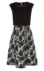 Karen Millen Layered effect full skirted dress