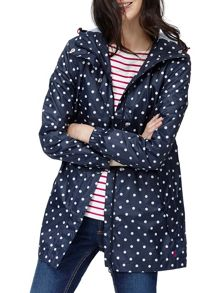 Joules Waterproof pack away parka