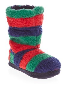 Joules Boys Super Soft Fluffy Slipper Sock