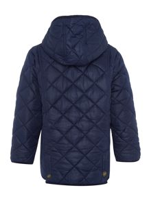 Boys Hooded Quilted Jacket