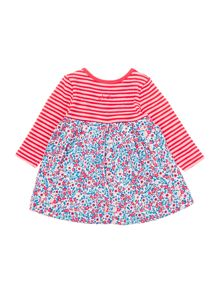 Girls Ditsy Print Empire Line Dress