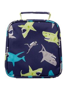 Joules Boys Shark Print Lunch Bag And Lunch Box