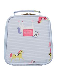 Joules Girls Horse Print Lunch Bag And Lunch Box