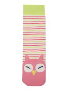 Girls Owl socks