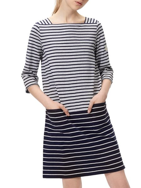 Joules 3/4 Sleeve casual dress